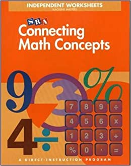 Connecting math concepts independent worksheets level b blackline connecting math concepts independent worksheets level b blackline masters s engelmann o engelmann d carnine 9780026847025 amazon books fandeluxe Image collections