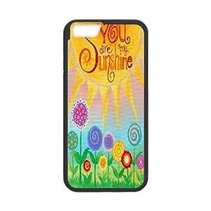 HQYDIY Customised You are my sunshine Plastic Case, Personalised You are my sunshine Hard Cell Phone Case for Iphone 6 4.7¡°