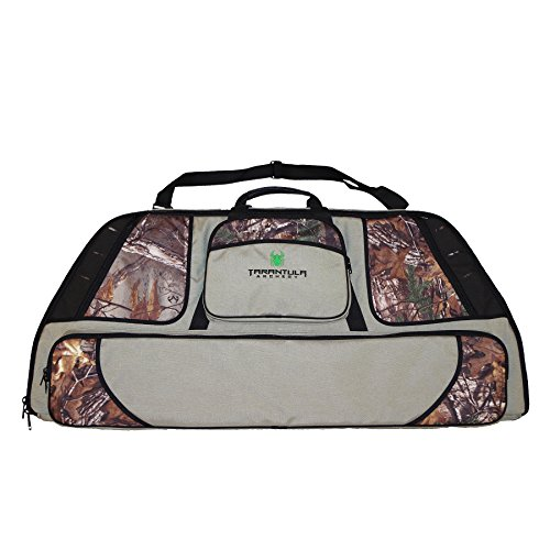 Deluxe Double Bow Case (Tarantula Deluxe Bow Case with Tackle Box Stone (Camo/Mixed Color, Single))