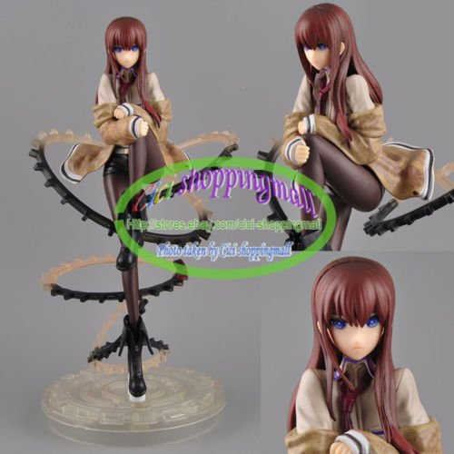 DASARA Japanese Anime Steins Gate Kurisu Makise 1/8 24cm PVC Figure New no box