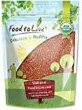 Food To Live ® Organic Red Quinoa (3 pounds)