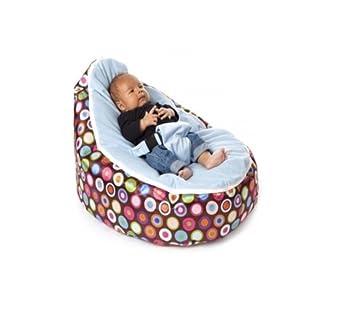 Babybooper Baby Beanbags Blue Rainbow 4 Count