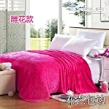 Znzbzt small blanket afternoon nap office single cute mini cover and small blankets winter student adult thick warm ,100x150cm [thick package of health, peach red