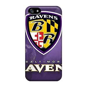 JonBradica Iphone 5/5s Protector Hard Cell-phone Case Unique Design High-definition Baltimore Ravens Series [Yiu12674ysmc]
