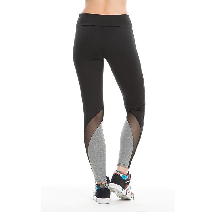 FRAUIT Polainas de Las Mujeres Gimnasio Deportes Correr Pantalones ...