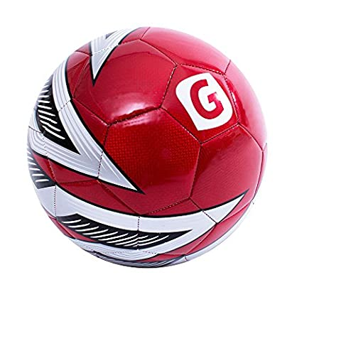 GLORY SPORTS Official Size Red PVC Match and Training Soccer Ball AUREOLE 302 - 302 Training