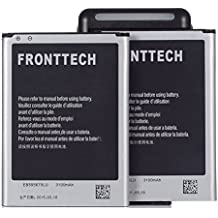 fronttech® 3100mAh OEM–Batería de repuesto + Cargador para Samsung Galaxy Note 2/II N7100, i605(Verizon), I317(at & T), T889(T-Mobile), L900(Sprint), R950(U.S. Cellular), Fits eb595675la (Select 6Chooses Infra)