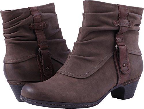 Rockport Cobb Hill Women's Alexandra Boot, Stone, 8.5 M US (Womens Ankle Slouch Boots)