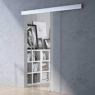 102,5 x 205 cm Diseño Puerta Corredera de Cristal Amalfi TS20 ...