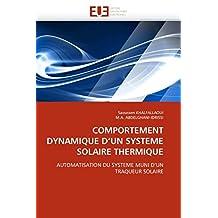 COMPORTEMENT DYNAMIQUE D  UN SYSTEME SOLAIRE