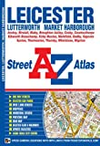 Front cover for the book A-Z Leicester by Geographers' A-Z Map Company