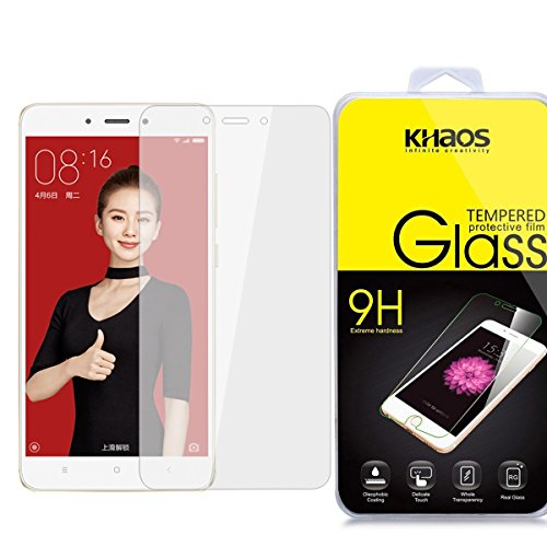 Khaos For Xiaomi Redmi 4X HD Clear Tempered Glass Screen Protector with Lifetime Replacement Warranty