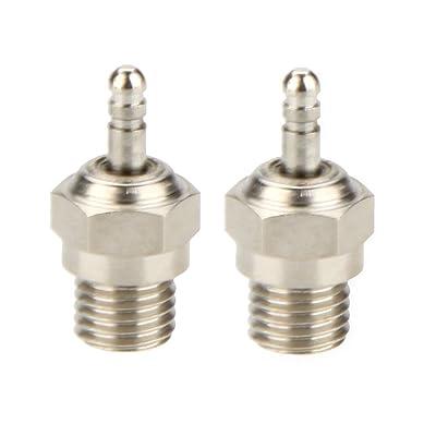2 Pcs Origine HSP N3 N4 Bougie Glow Plug Spark Plug 70117 Pour RC Voitures