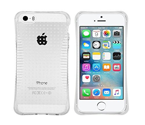 LOLO® Étuis en gel Coin Coussin, Pare-chocs transparent TPU Pour Apple iPhone 6G / 6S - de gel souple étui transparent avec film protecteur d'écran et stylet rétractable