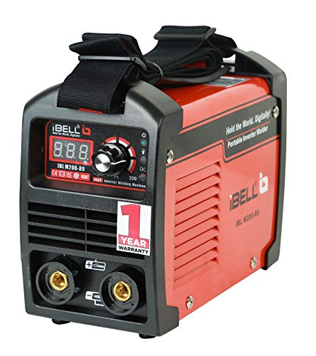 iBELL 200-89 Inverter ARC Compact Welding Machine (IGBT) 200A with Hot Start and Anti-Stick Functions - 1 Year Warranty 1