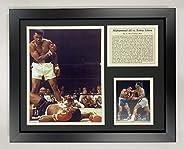 Legends Never Die Muhammad Ali vs. Liston Framed Photo Collage, 11 x 14-Inch