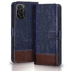 TheGiftKart Dual-Color Leather Finish Xiaomi Mi 11X / Mi 11X Pro Flip Back Cover | Inside Pockets & Inbuilt Stand…