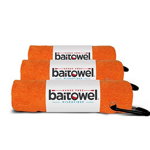 Microfiber Bait Towel 3 Pack (Orange Crush)