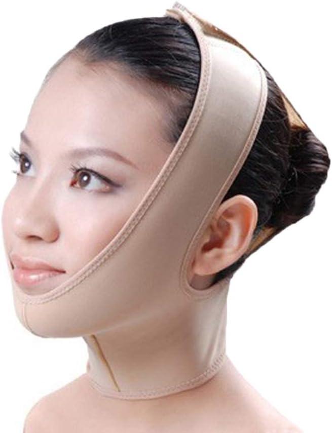 Double Mentonnière, Soulèvement Du Bandage, Raffermissement Du Visage, Masque Facial Pour La Perte De Poids, Lifting Du Bandage (Size : M)