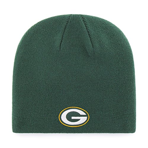 OTS Adult Men's NFL Beanie Knit Cap, Team Color, One Size