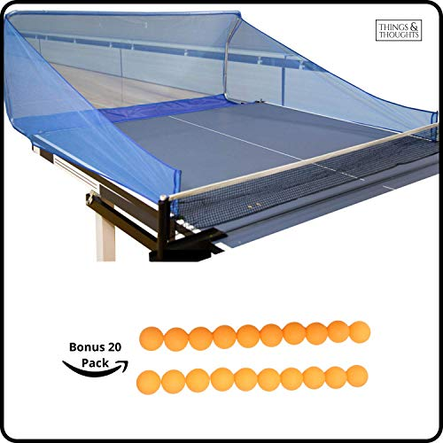 Why Should You Buy Ball Catch Net for Ping Pong and Table Tennis, This Catcher Net is Great for Sing...