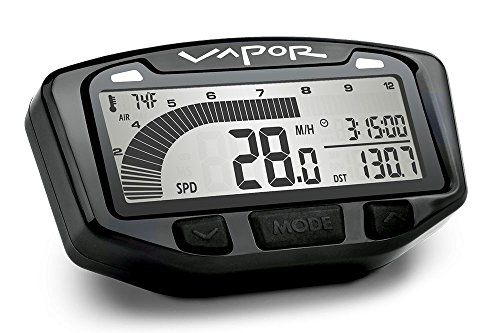 Trail Tech 752-111 Black Vapor Digital Gauge Speedometer 2016-2019 KTM Husqvarna 250 350 - Trail Tech Computer