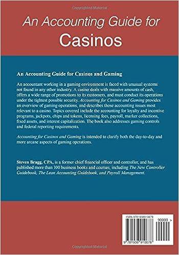 Accounting cash casino incentive poker casino innsbruck