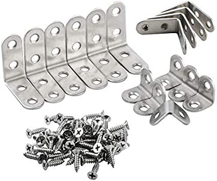 Stainless Steel Bracket Bar With 2 Countersunk Holes