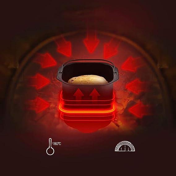 LJ-MBJ Automático Maquina de Pan, Multifunción Inteligente Maquina para Hacer Pan, La Torta Yogurtera Desayuno Tostadoras Máquina para Hornear Pan, ...