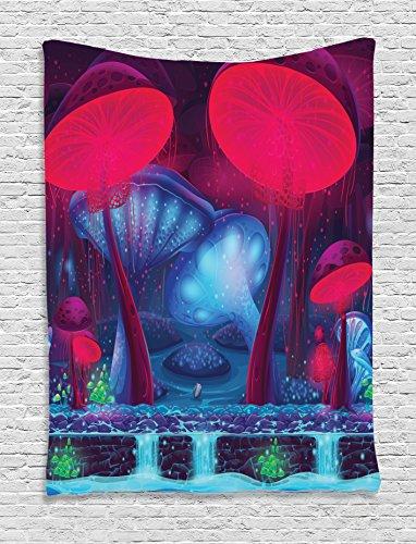 Mushroom Tapestry Ambesonne Mushrooms Enchanted