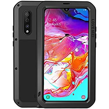 Amazon.com: BestShare for Samsung Galaxy A70 Case & Tempered ...