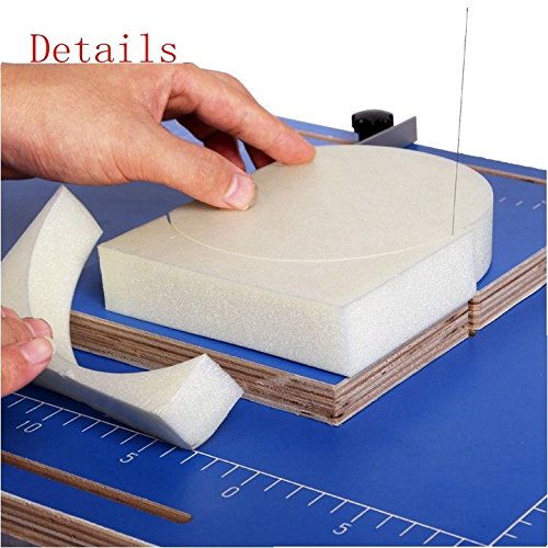TOPCHANCES 110V Hot Wire Foam Cutter Foam Cutting Machine Table Tool Styrofoam Cutter by TOPCHANCES