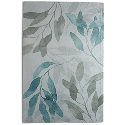 Rugsmith Meadow Area Rug, 5' x 7', Teal