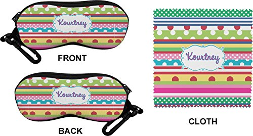 Ribbons Eyeglass Case & Cloth (Personalized)