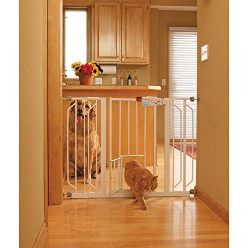 Carlson PET GATES 916039 Extra Wide Walk Through Gate wit...