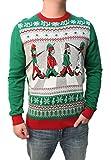Ugly Christmas Sweater Men's Beatles Abbey Road Pullover Sweatshirt