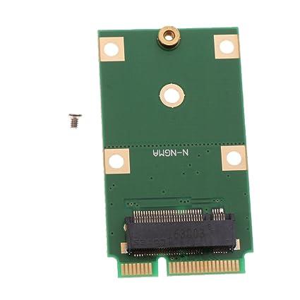 IPOTCH Adaptador SSD M.2 Adaptador de Tarjeta NGFF a mSATA ...