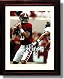 Framed A.J. McCarron Autograph Replica Print - Alabama Crimson Tide National Champs