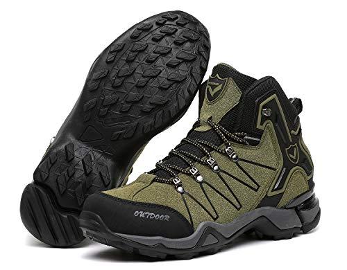 Chaussures Trekking De Outdoor Hautes vert 11 Randonnée Sport Homme Sneakers Bottes Pour XrXxUwq