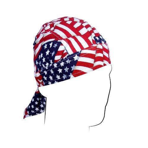 Zan Headgear Z265 FLYDANNA WAVY AMER FLAG ()