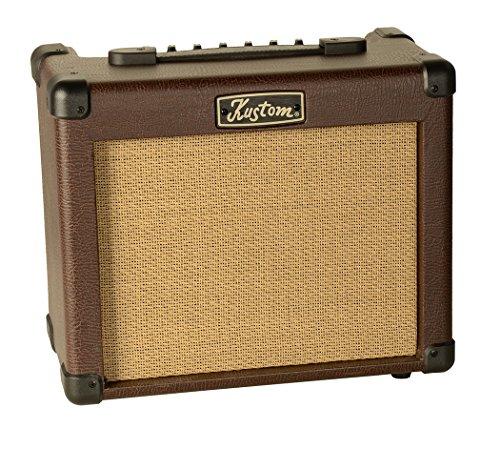 Kustom Acoustic Guitar Amplifier, Bubinga, 16 watts (SIENNA16PRO) - Kustom Guitar Amps