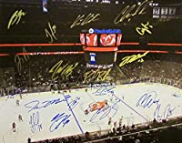 2016-17 NEW JERSEY DEVILS AUTOGRAPHED Team SIGNED Photo Poster Large 16x20 w/COA Cory Schneider Taylor Hall