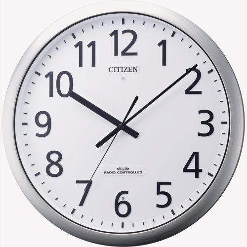 [シチズン 2657812] 強化防滴防塵電波掛時計 パルフィス484 B00MIN9SW8