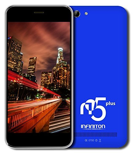 Infiniton-N5-Plus-Smartphone-de-5-WiFi-Bluetooth-Quad-Core-13-GHz-Dual-SIM-16-GB-Android-44-KitKat-color-azul