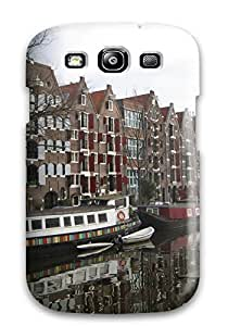 Tpu Fashionable Design Amsterdam City Rugged Case Cover For Galaxy S3 New