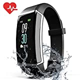 ZyMaSh Fitness Tracker – Color Smart Watch – Heart Rate Fitness Tracker – IP68 Waterproof ‎Fitness Watch – Fit Watch Tracker...