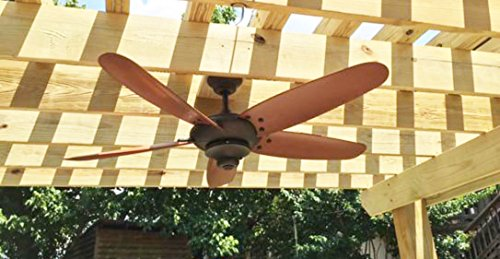 Home Decorators ''Altura'' 60'' Outdoor Oil Rubbed Bronze Ceiling Fan by Home Decorators (Image #6)