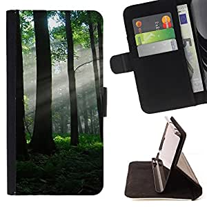 Jordan Colourful Shop - Nature Beautiful Forrest Green 80 For Apple Iphone 6 PLUS 5.5 - Leather Case Absorci???¡¯???€????€???????&bd