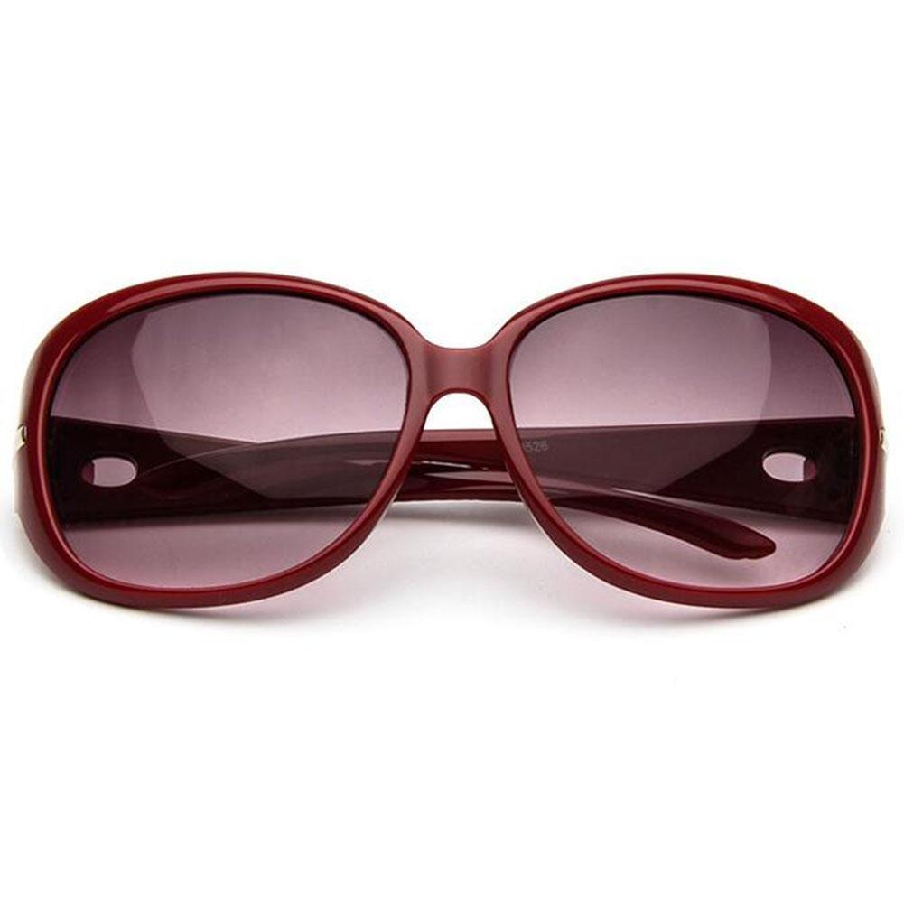 Z&YQ Gli Occhiali Da Sole Degli Occhiali Da Sole Femminili Europei Grandi Occhiali Da Sole Retrò , Dates Red
