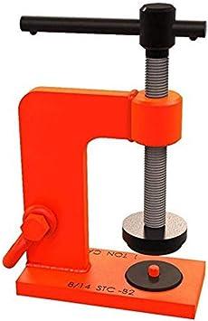 red 3//4 Ton C Clamp Bon Tool 11-887 Stone Lifting Clamp